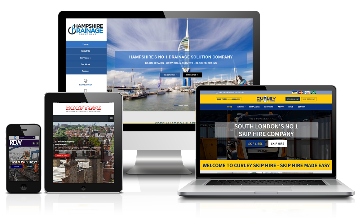 Responsive Web Design on multiple platforms